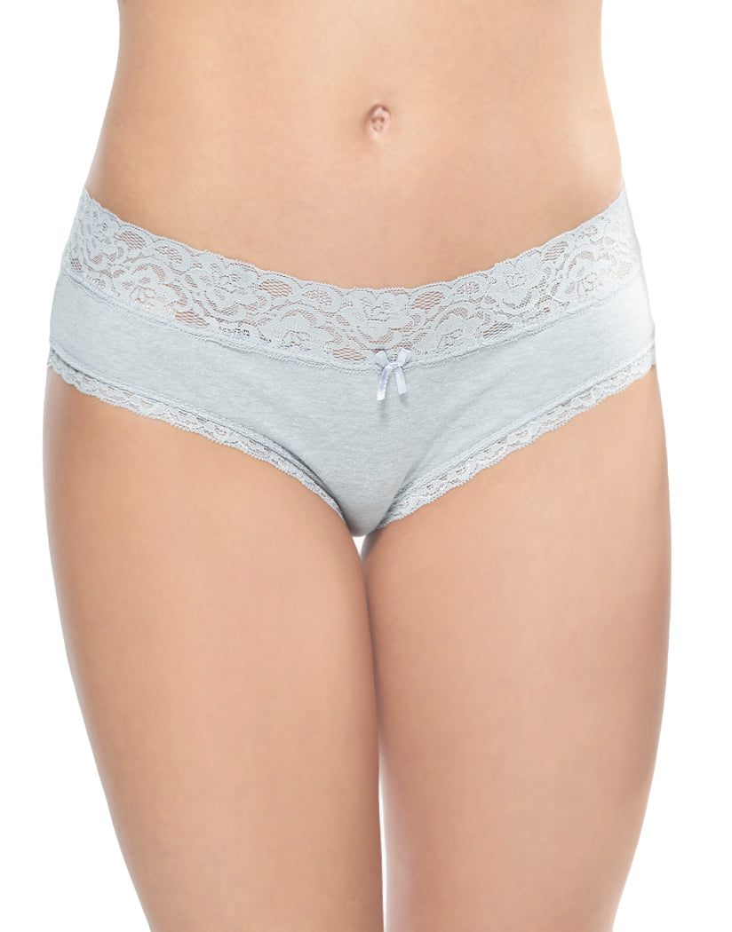 Heather Grey Front International Intimates Made with Love Hipster 156461