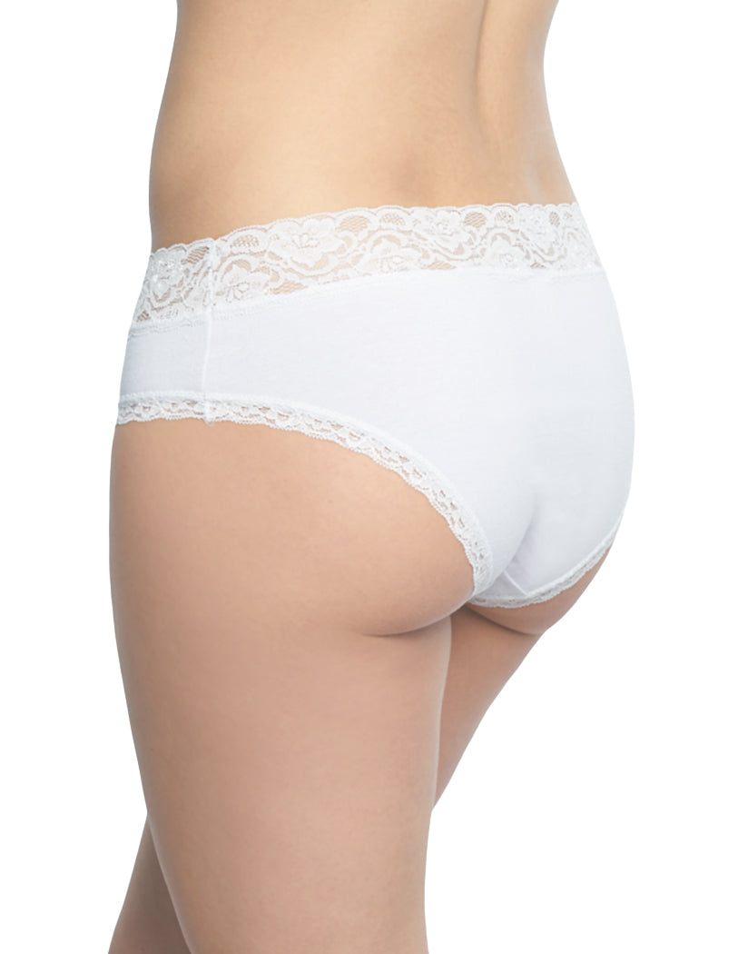 White Back International Intimates Made with Love Hipster 156461