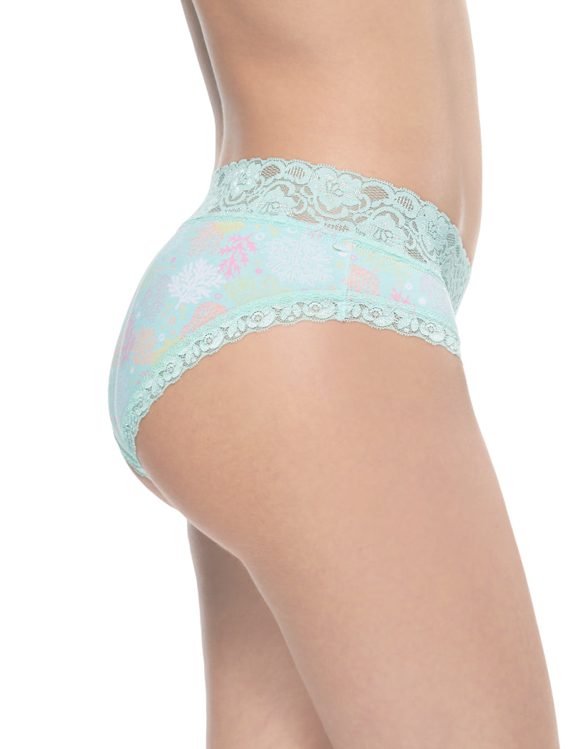 Ocean Coral Side International Intimates Laced So Sweet Hipster 156659