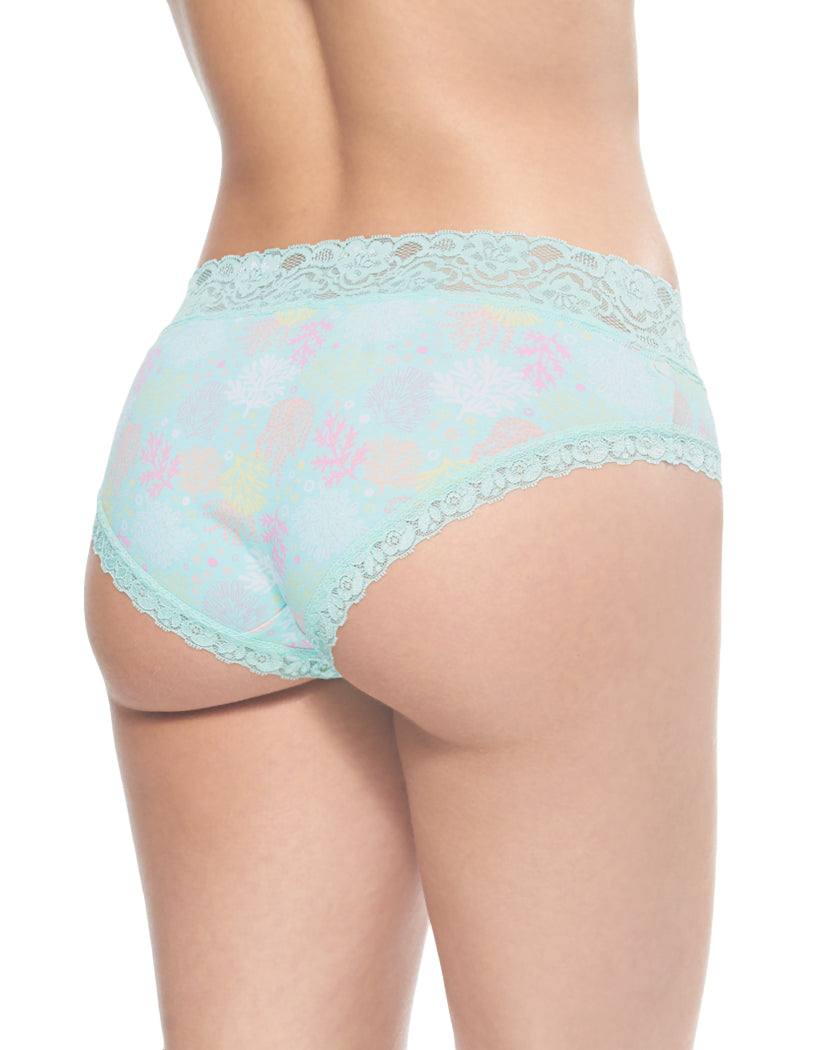Ocean Coral Back International Intimates Laced So Sweet Hipster 156659