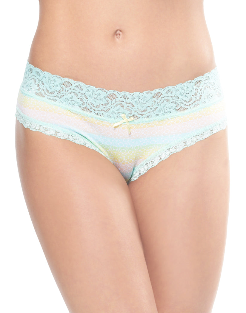 Sunset Haze Front International Intimates Laced So Sweet Hipster 156659
