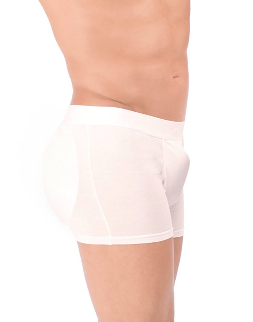 White Side Padded Boxer Trunk