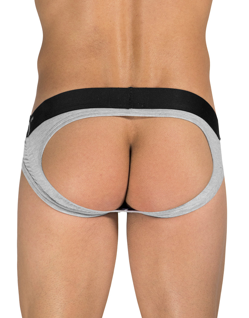 Gray Front Rounderbum Jock Brief JC09