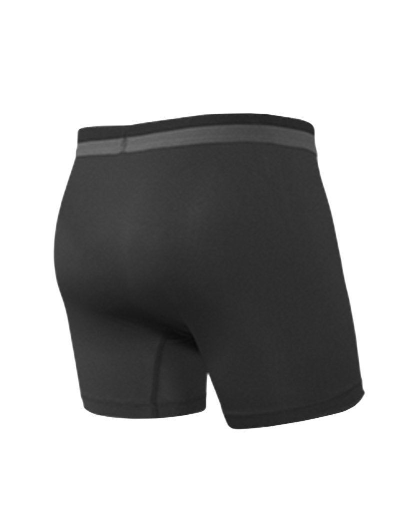 Black Back Saxx Sport Mesh Boxer Brief SXBB12F