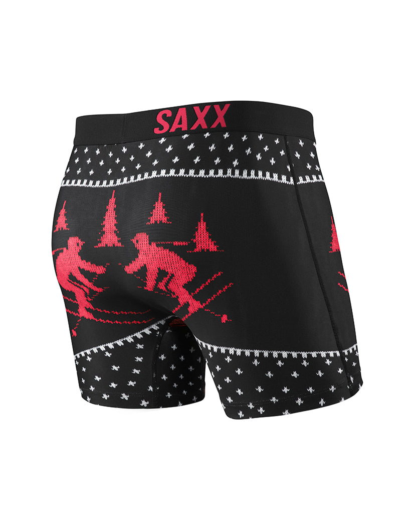 UGL Back SAXX Ugly Xmas Sweater Boxer Brief