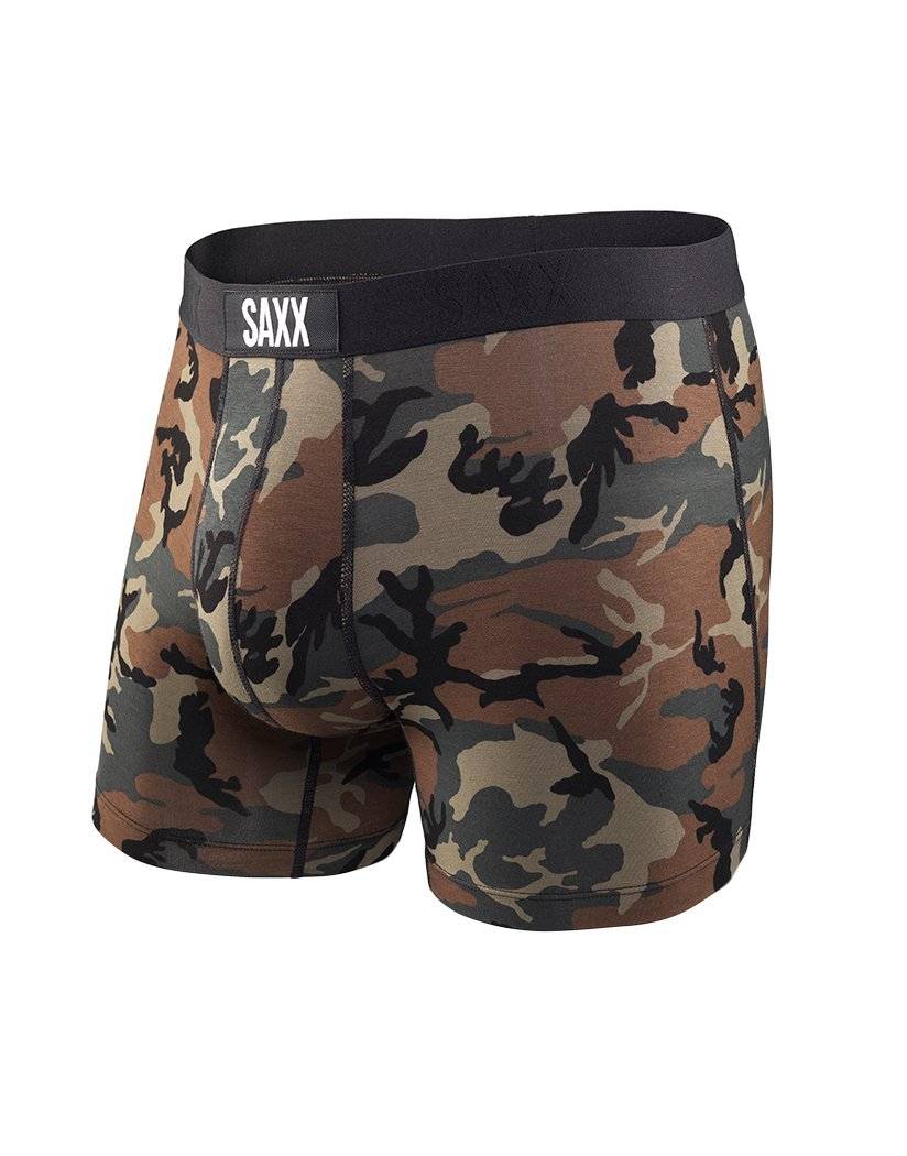 Woodland Camo Front Vibe Modern Fit Boxer- Woodland Camo