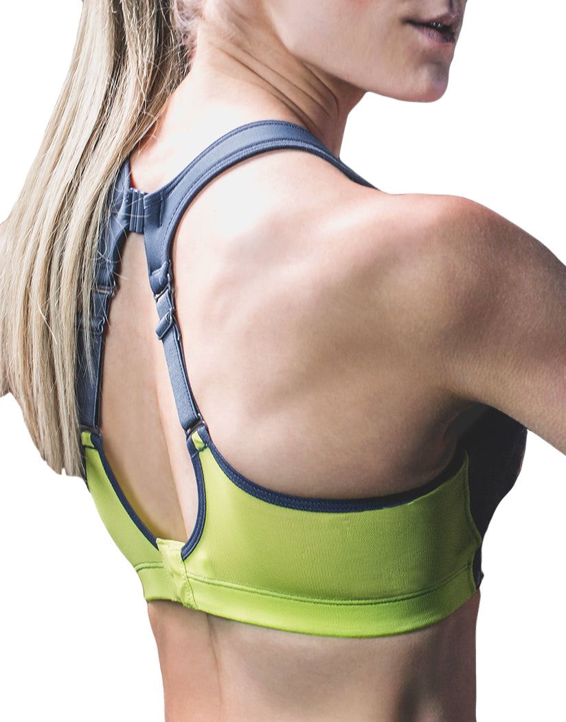 Grey/Lime Back Shock Absorber Ultimate Fly Bra S02Y3