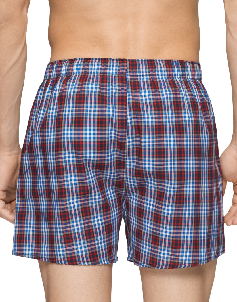 dc4463a8c536 Multi Back Tommy Hilfiger 3-Pack Classic Cotton Woven Boxers