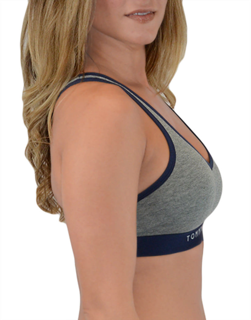 Heather Grey Side Classic Cotton Lounge Bra
