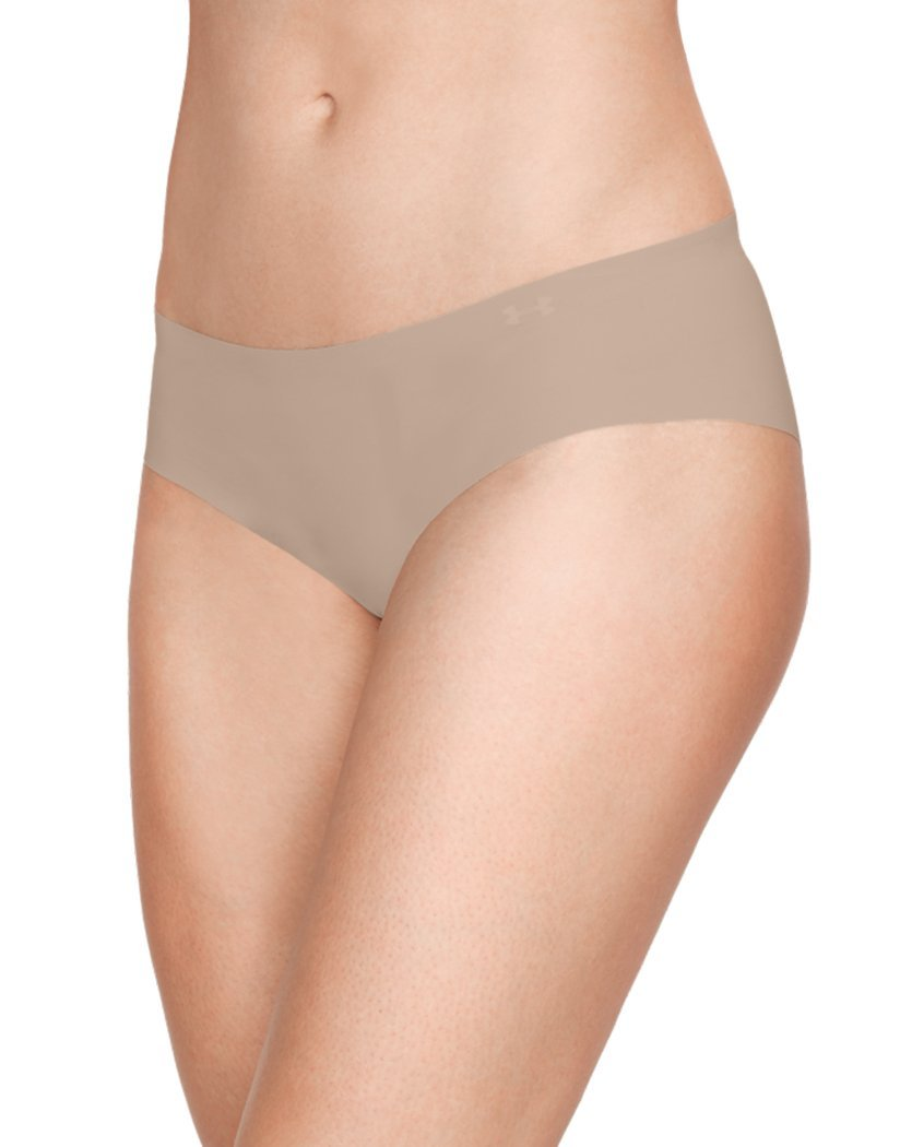 Nude Front Under Armour Women PS Hipster 3 Pack Nude 1325616