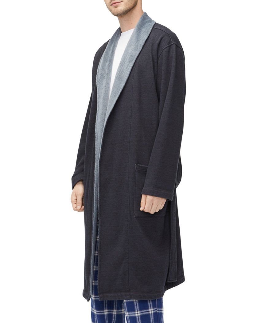 Black Heather Side UGG Robinson Robe Black Heather 1096932