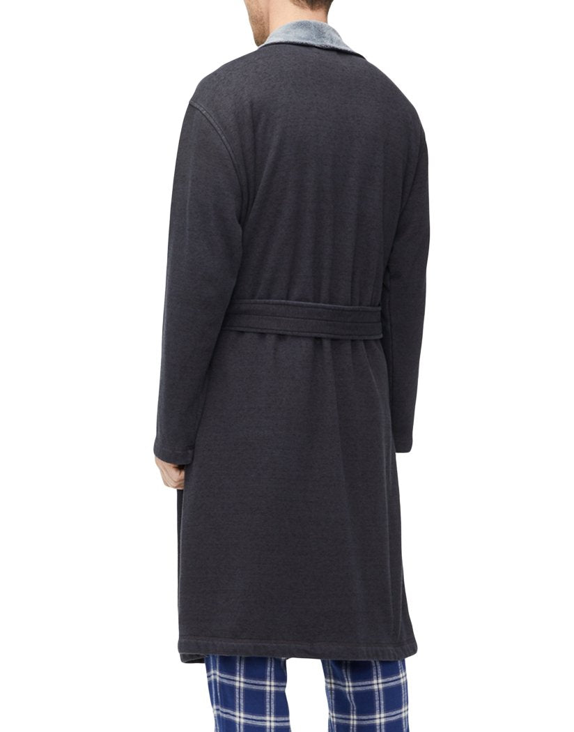 Black Heather Back UGG Robinson Robe Black Heather 1096932