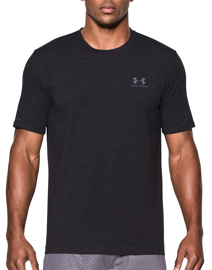 Under Armour Charged Cotton Sportstyle T-Shirt Black/Steel M 888376043773