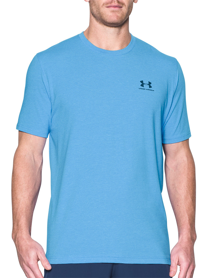 Under Armour Charged Cotton Sportstyle T-Shirt Water Blackout Navy L 190086807782