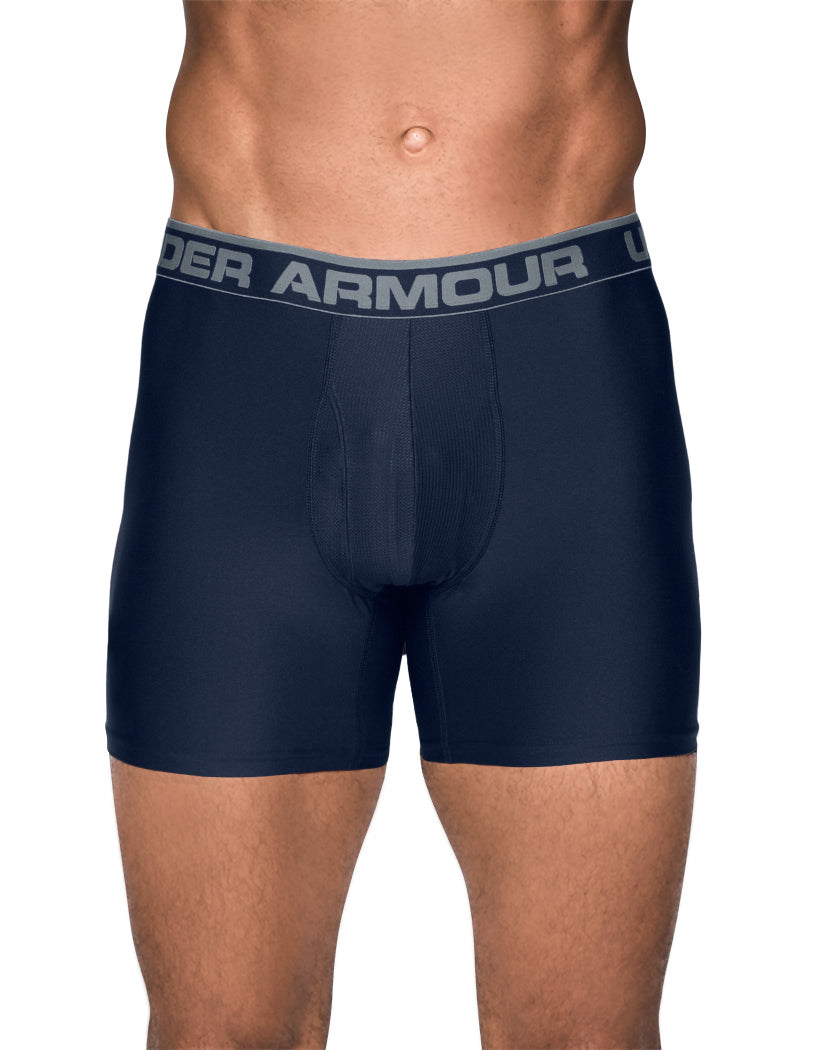 "Midnight Navy/Artillery Green Front Under Armour Original Series 6"" Boxerjock® – 2-Pack"