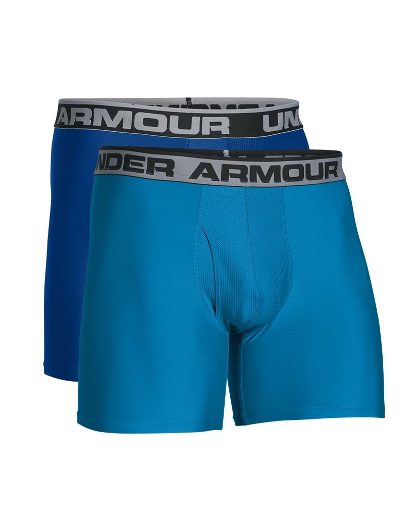 Royal/Brilliant Blue Front Under Armour Original Series 6 Boxerjock 2-Pack