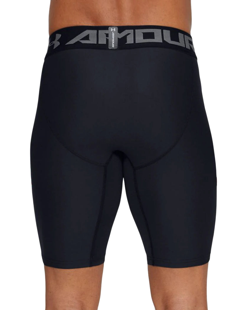 Black/Graphite Back Under Armour HeatGear Armour 2.0 Long Compression Short 1289568