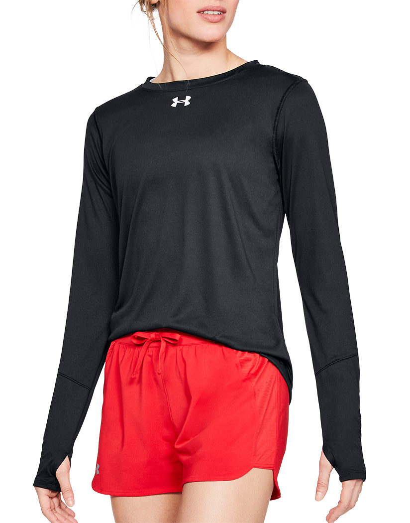 Under Armour Women Long Sleeve Locker Tee Black S 191169073612