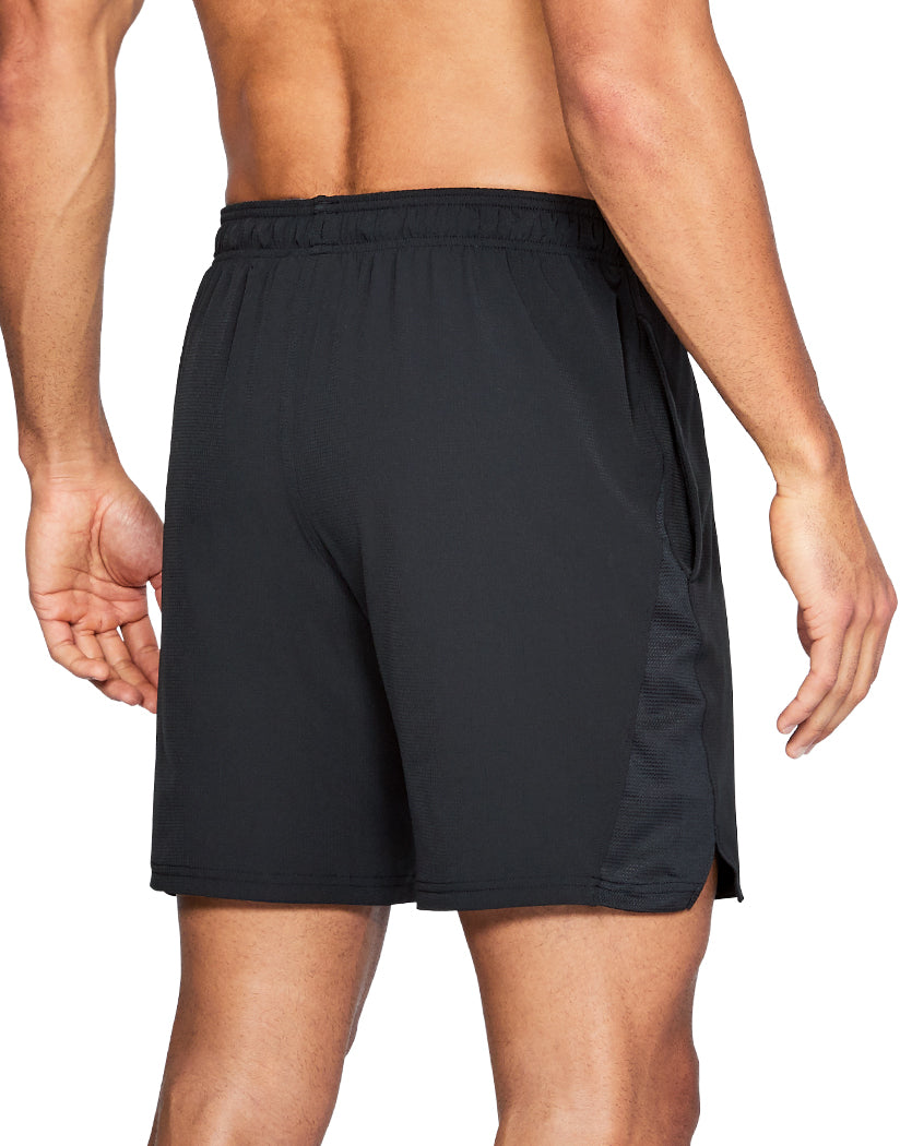 Black Back Under Armour Cage Graphic Short