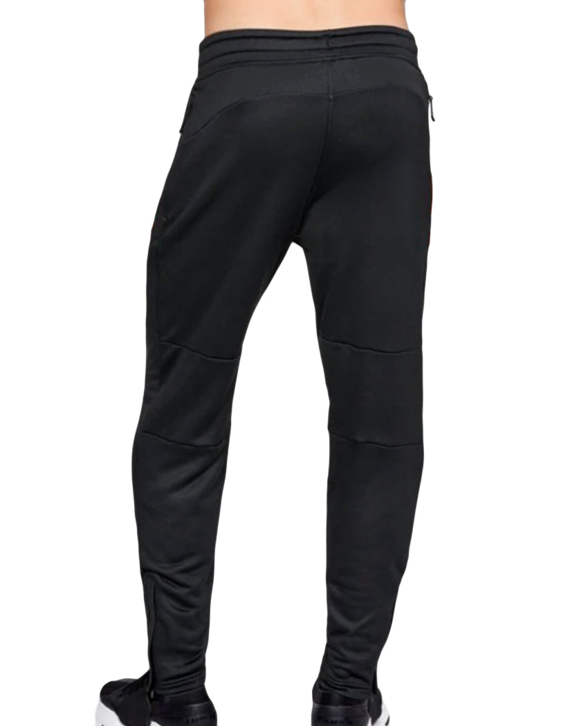 Black-Anthracite Back Under Armour MK1 Terry Tapered Pant 1306447