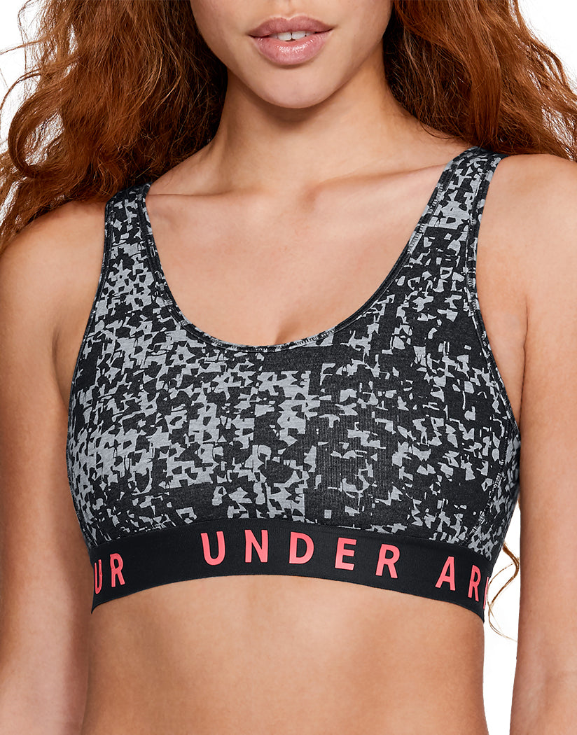 Under Armour Women Favorite Cotton Everyday Sports Bra See-Black L 191169697672