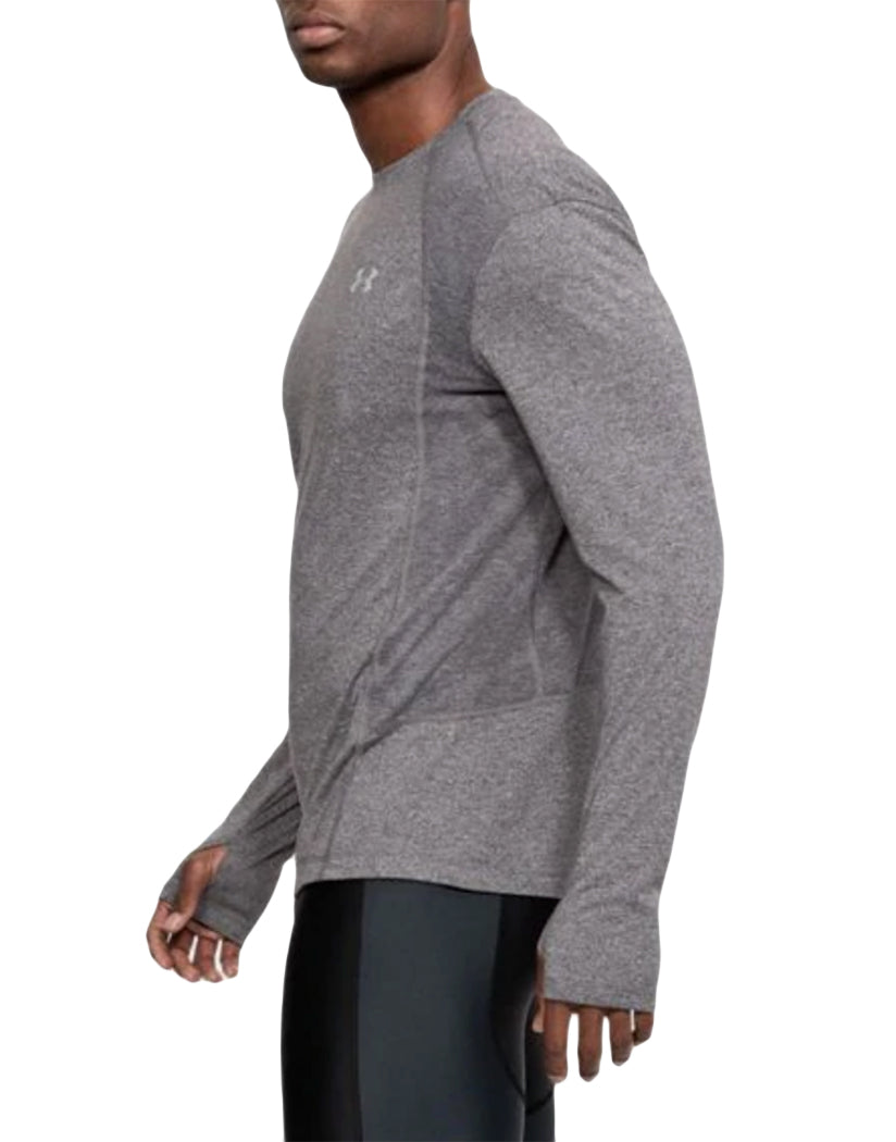 Charcoal Light Heather Side Under Armour Swyft Long Sleeve Tee 1318418