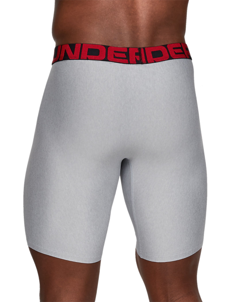 Mod Gray Light Heather/Jet Gray Light Heather Back Under Armour Tech 9