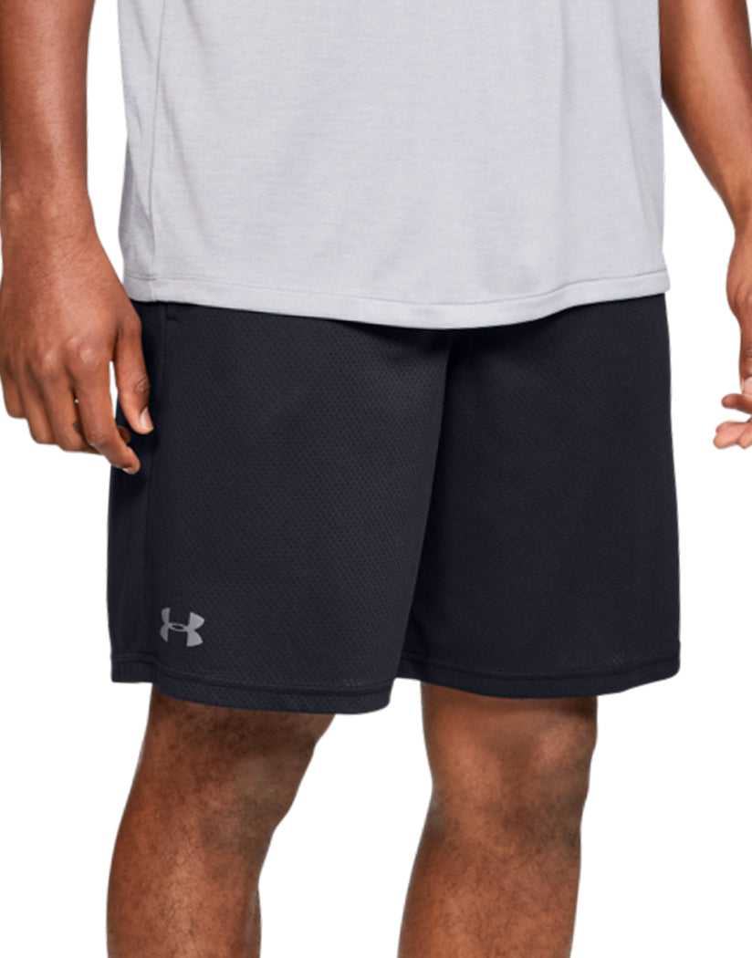 Black/Pitch Gray Front Under Armour Tech Mesh Short 1328705