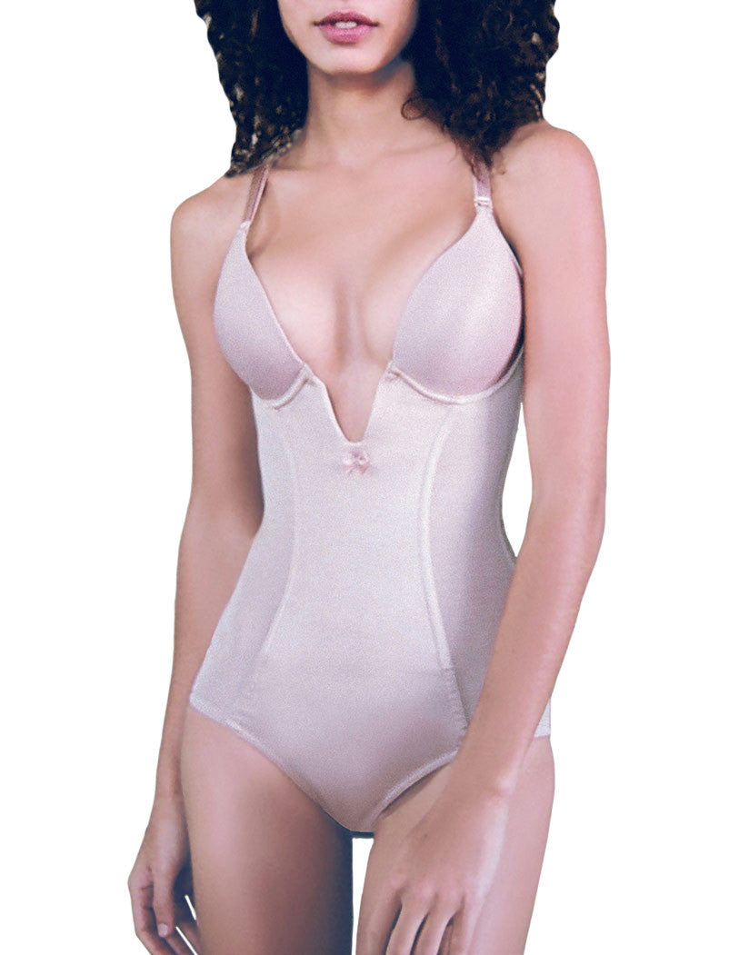 Va Bien Ultra Lift Very Low Plunge Body Suit Nude 32C 009269912024