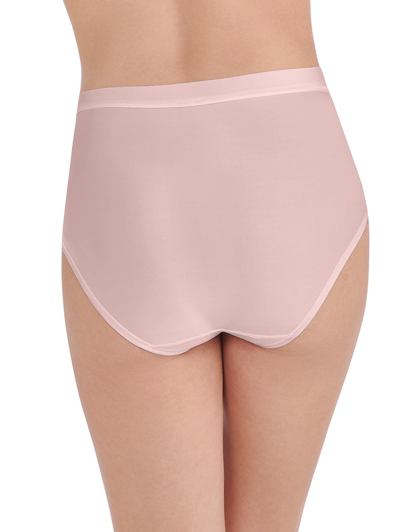 Sheer Quartz Back Vanity Fair Light and Luxe Brief Panty