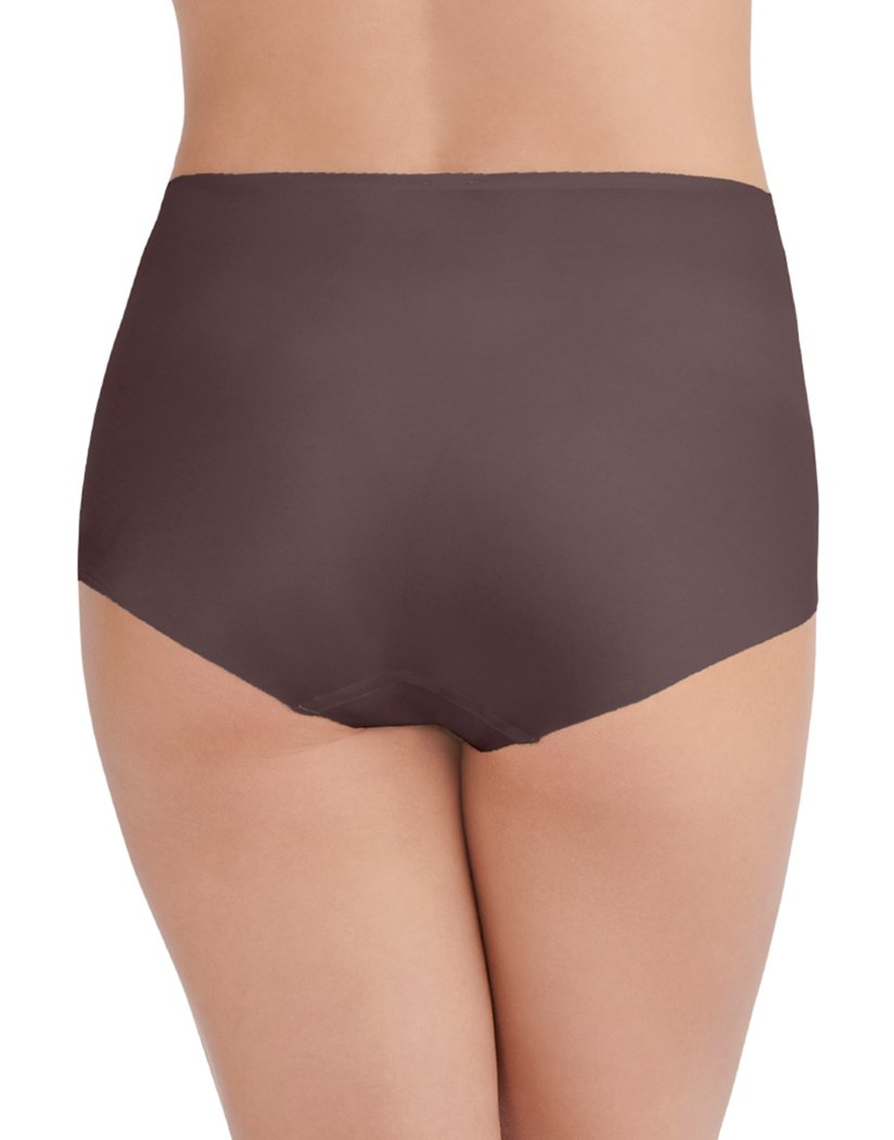 Deep Mauve Back Vanity Fair Nearly Invisible Brief 13241