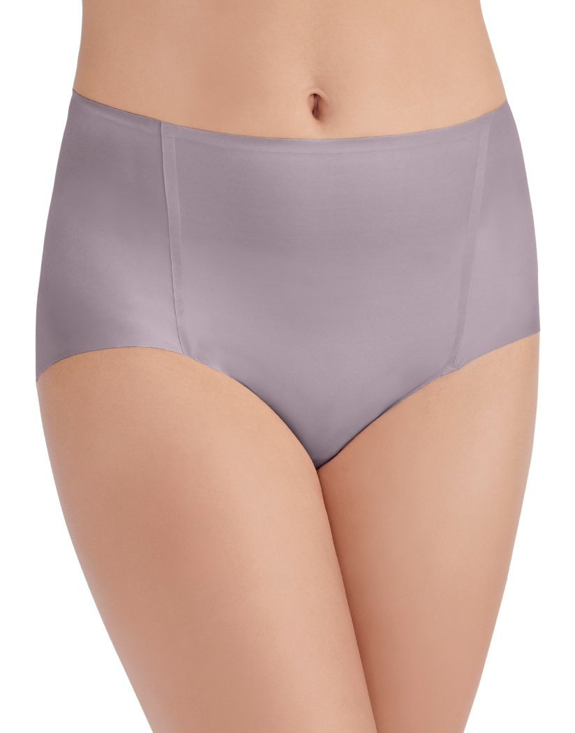 Earthy Grey Front Vanity Fair Nearly Invisible Brief 13241