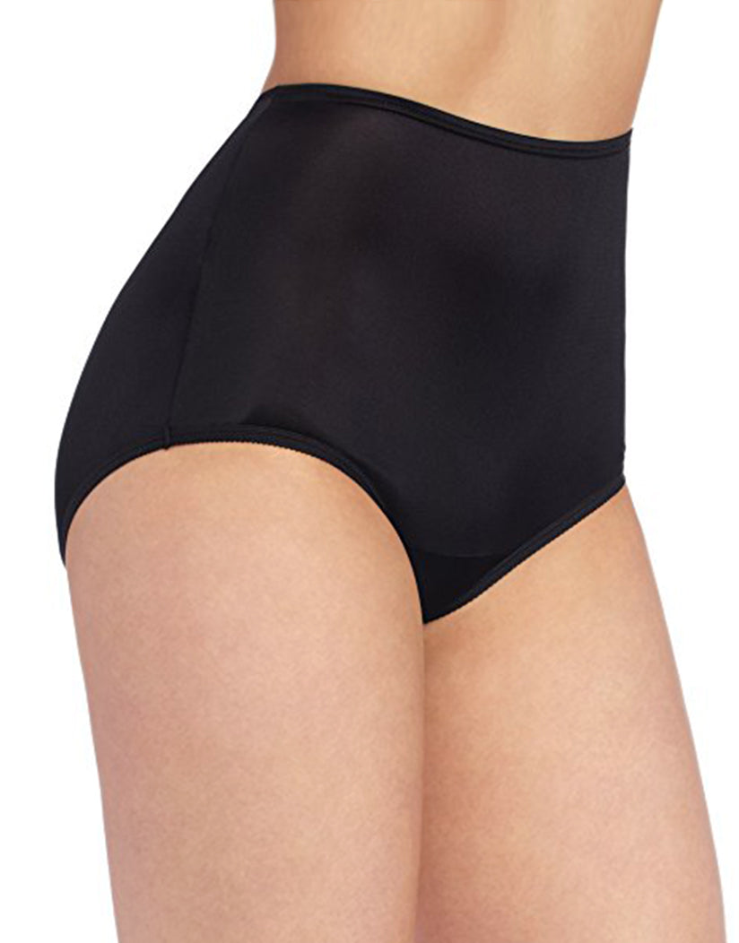 Midnight Black Front Perfectly Yours Ravissant Premium Tailored Nylon Brief