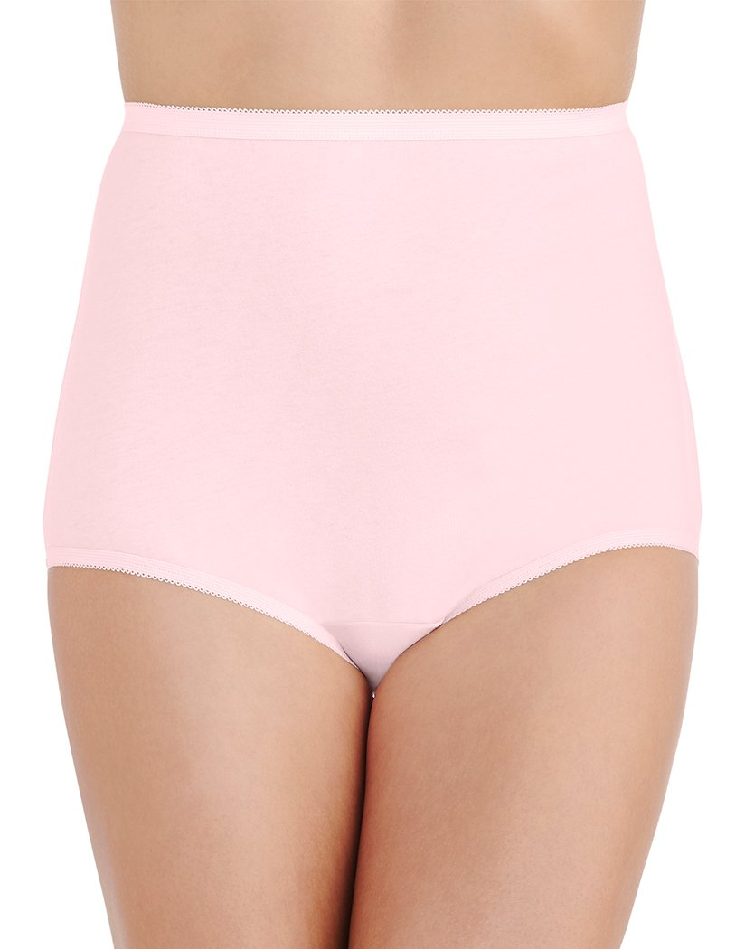 Ballet Pink Front Vanity Fair Perfectly Yours Tailored Brief 15318