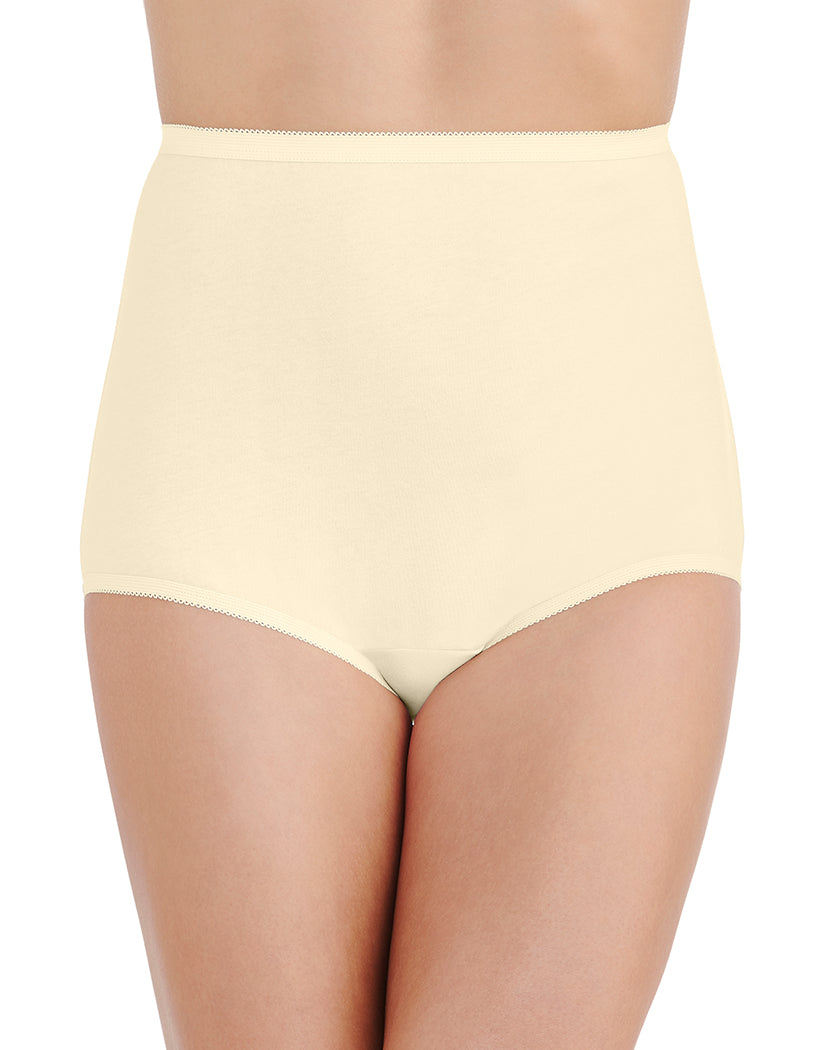 Candleglow Front Vanity Fair Perfectly Yours Tailored Cotton Brief 15318