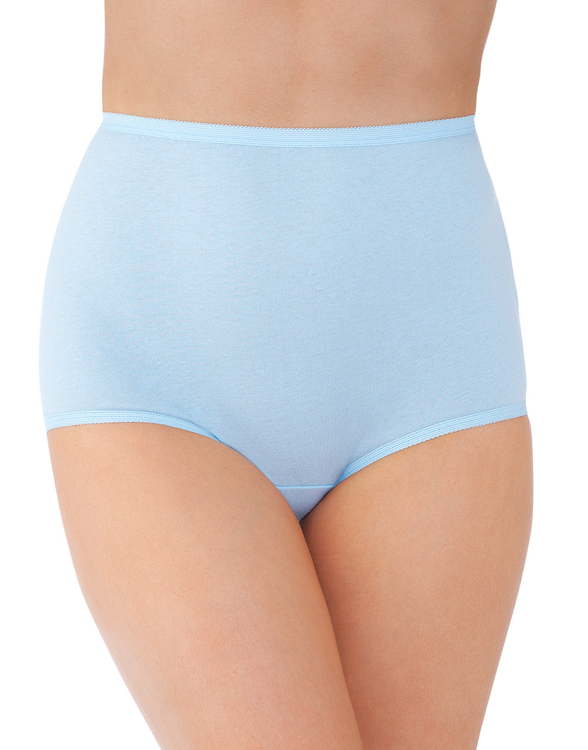 Sachet Blue Front Vanity Fair Perfectly Yours Tailored Cotton Brief 15318
