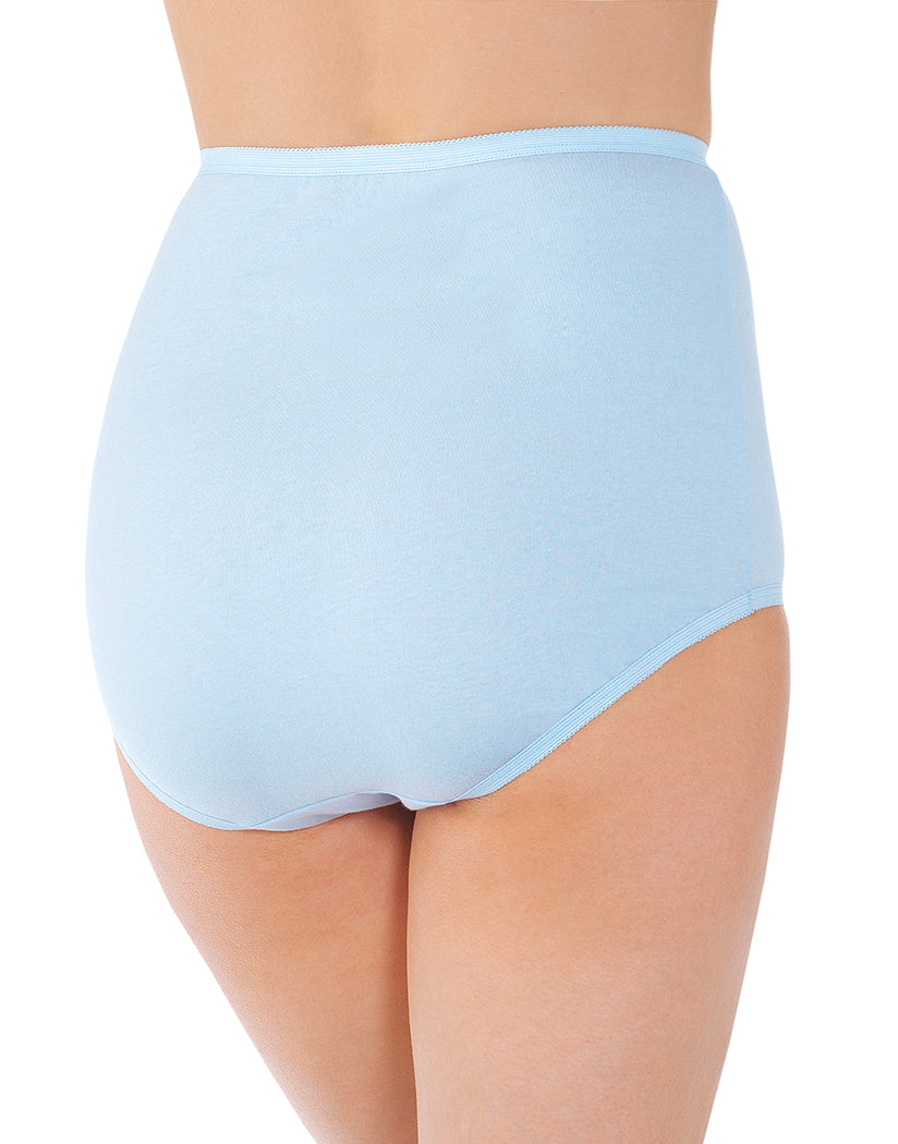 Sachet Blue Back Vanity Fair Perfectly Yours Tailored Cotton Brief 15318