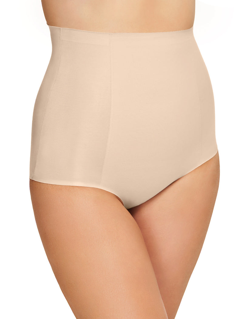 Sand Side Wacoal Beyond Naked Cotton Shaping Hi-Waist Brief Shapewear Panty 808330
