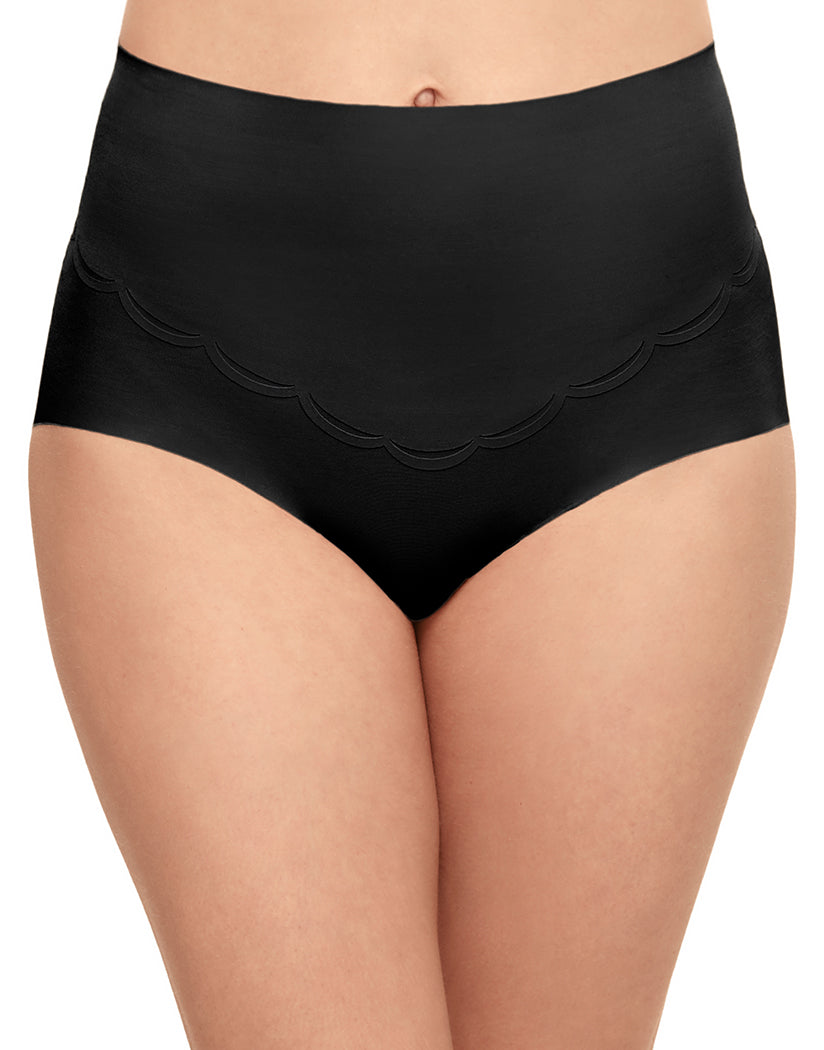 Black Front Wacoal Inside Edit Shaping Brief 809307