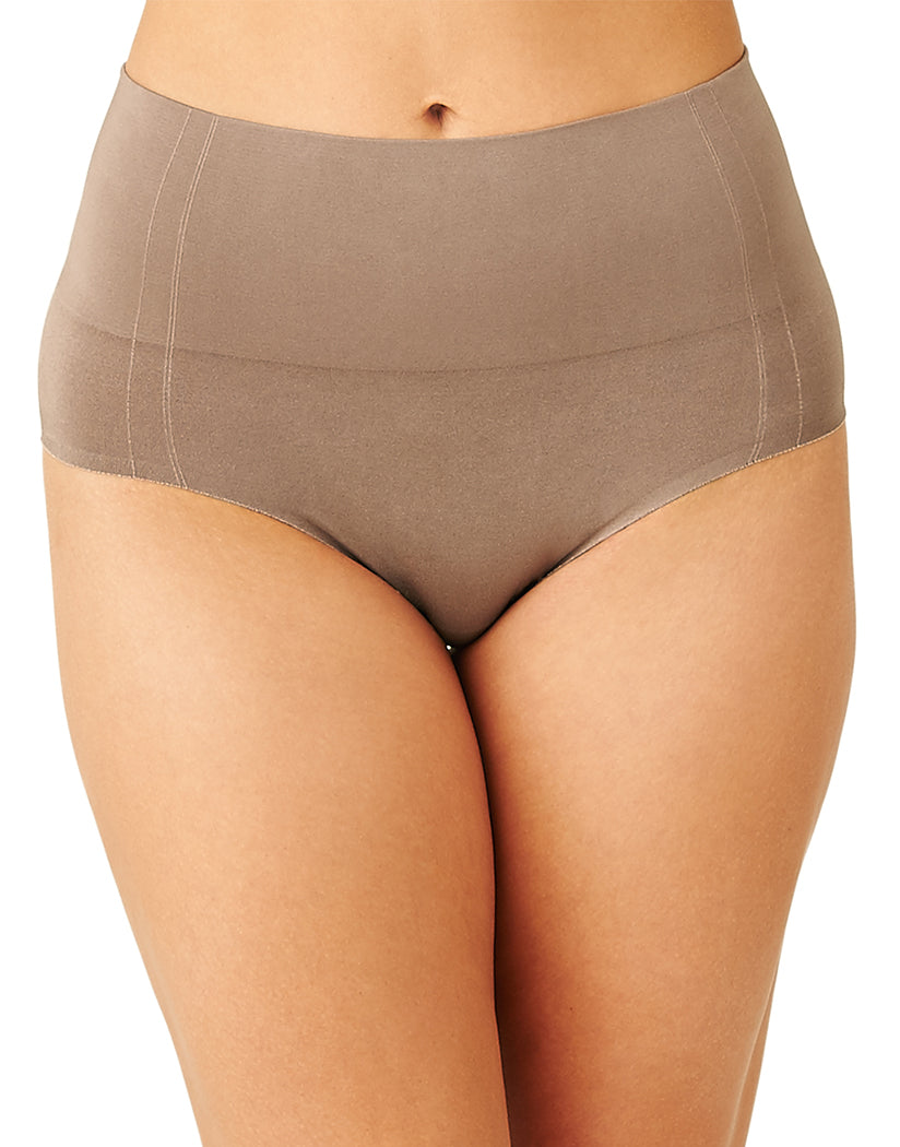 Deep Taupe Front Wacoal Simply Smoothing Shaping Brief 809360