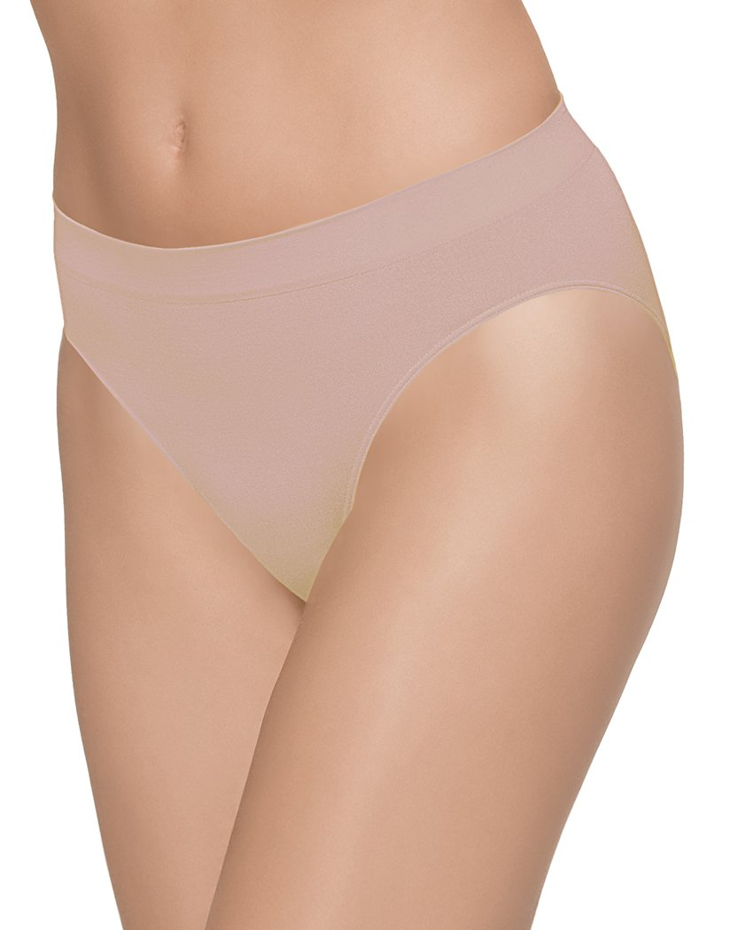 Rose Dust Front Wacoal B-Smooth Seamless Hi-Cut Brief Rose Dust 834175