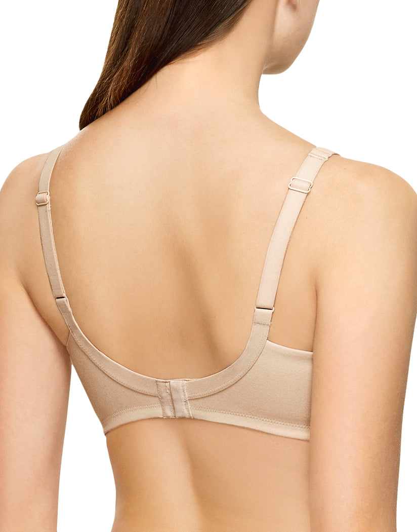 Natural Nude Back Wacoal How Perfect Full Figure Wire Free Bra