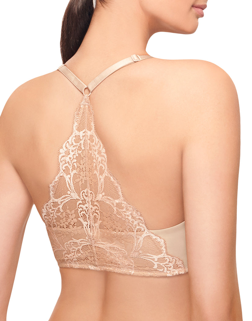 Blush Front Wacoal Lace Impression Front Closure Bra