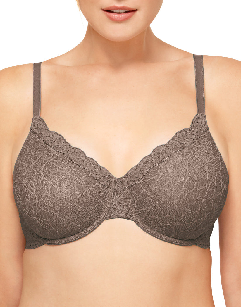 Deep Taupe Front Wacoal Vivid Encounter Underwire Bra 855295