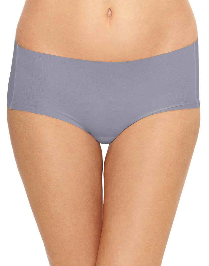 Lilac Gray Front Wacoal Beyond Naked Cotton Hipster 870259