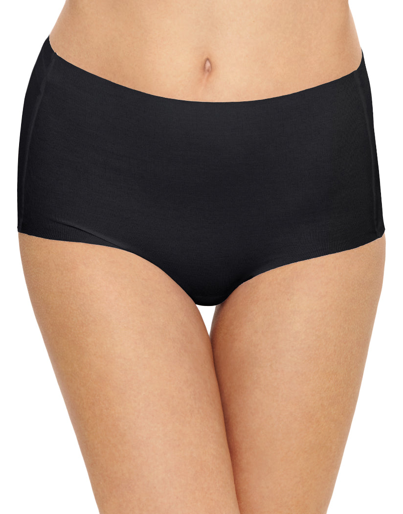 Black Front Wacoal Beyond Naked Cotton Brief