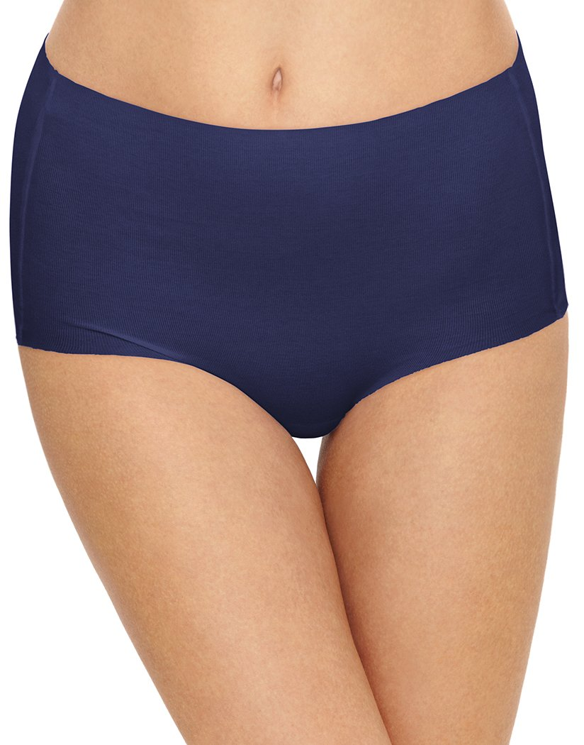 Patriot Blue Front Wacoal Beyond Naked Cotton Brief Patriot Blue 870359