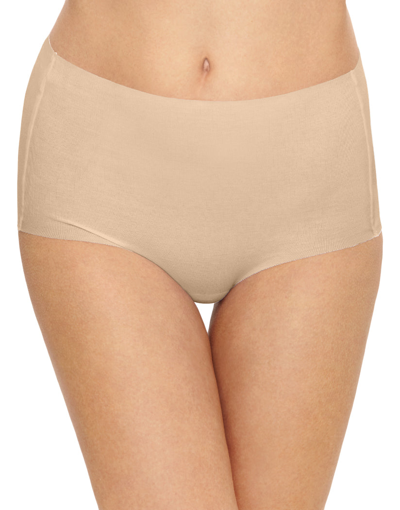 Sand Front Wacoal Beyond Naked Cotton Brief