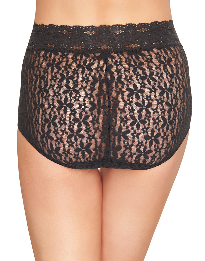 Black Back Wacoal Halo Brief 870405