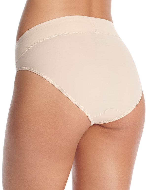 Sand Back Warner's No Pinching No Problems High Cut Brief Panty 5138J